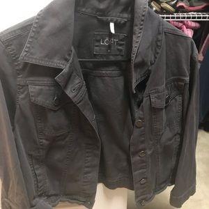Dark Grey Loft Jacket